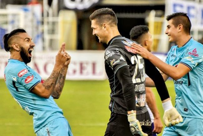 From goal to goal it is not always guarrería: the goal the goalkeeper Bolivar