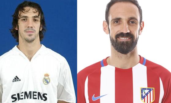 Cinco futbolistas que jugaron en el Atlético y en el  Real Madrid