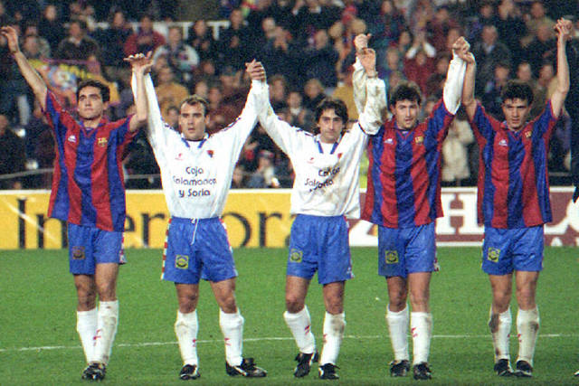 Numancia Copa del Rey de 1996