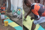 De pintar las calles para el Mundial de 2014 a estrella del City