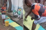 De pintar las calles para el Mundial de 2014 a delantero de Brasil en Rusia 2018