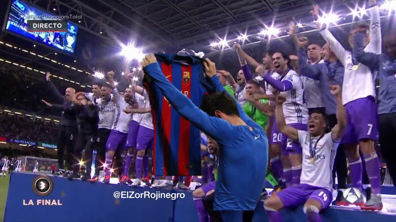 Bestes Meme des zwölften Champion Real Madrid