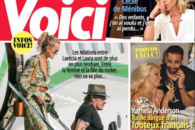 Adil Rami and Pamela Anderson, the odd couple summer