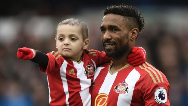 Muere Bradley Lowery, little friend of Jermain Defoe