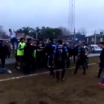 A monumental brawl in Argentine football ended Rocky set the pace