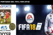 The covers of FIFA since 24 years