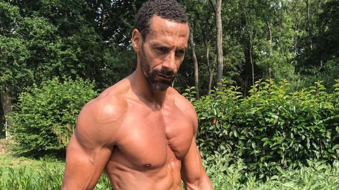 The dramatic physical change of Rio Ferdinand