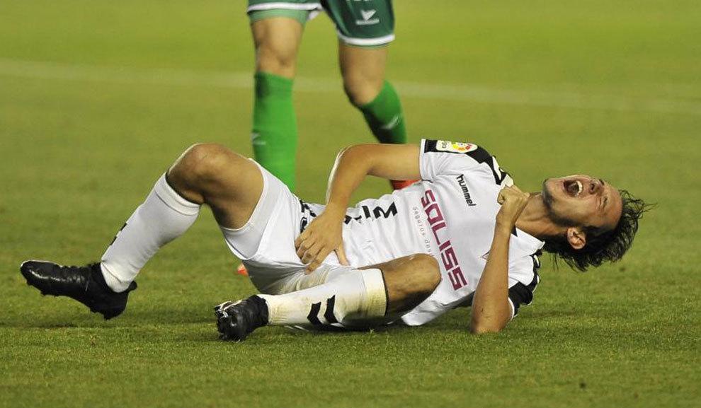 Jugador del Albacete recibe 10 puntos en el pene