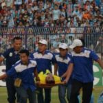 Indonesian goalkeeper dies league after a crash