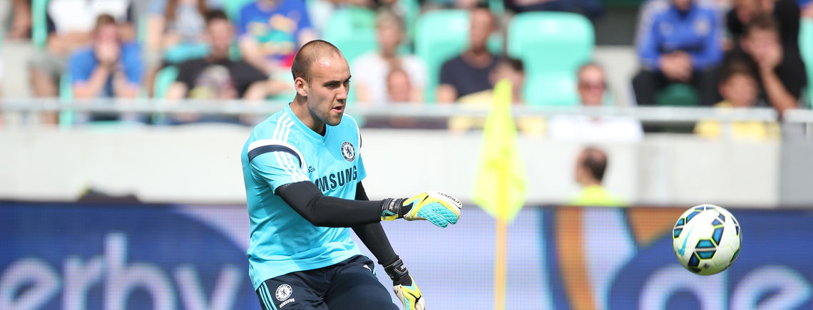 The goalkeeper has not played any games at his club in eight seasons