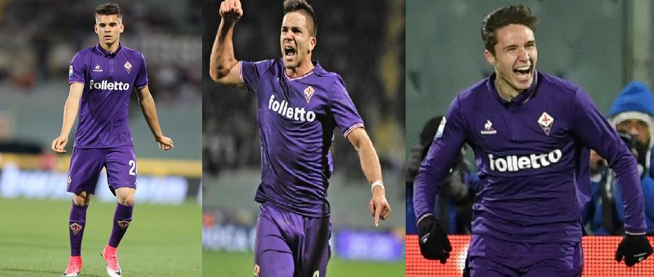 La Fiorentina junta a 3 jugadores cuyos padres dejaron sus apellidos en el fútbol de los 90