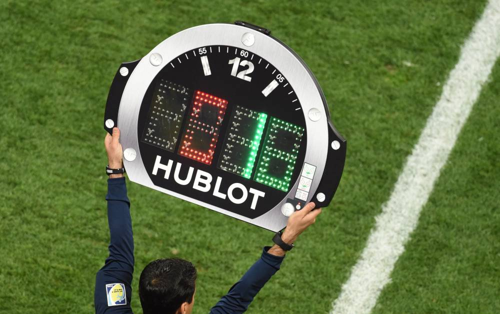 UEFA approve the fourth change in all competitions under his command