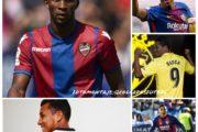 Los colombianos que juegan en LaLiga de España