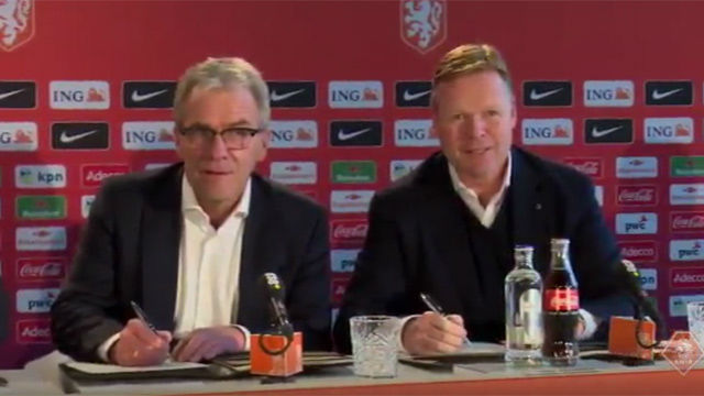 Ronald Koeman becomes the new coach of the Netherlands