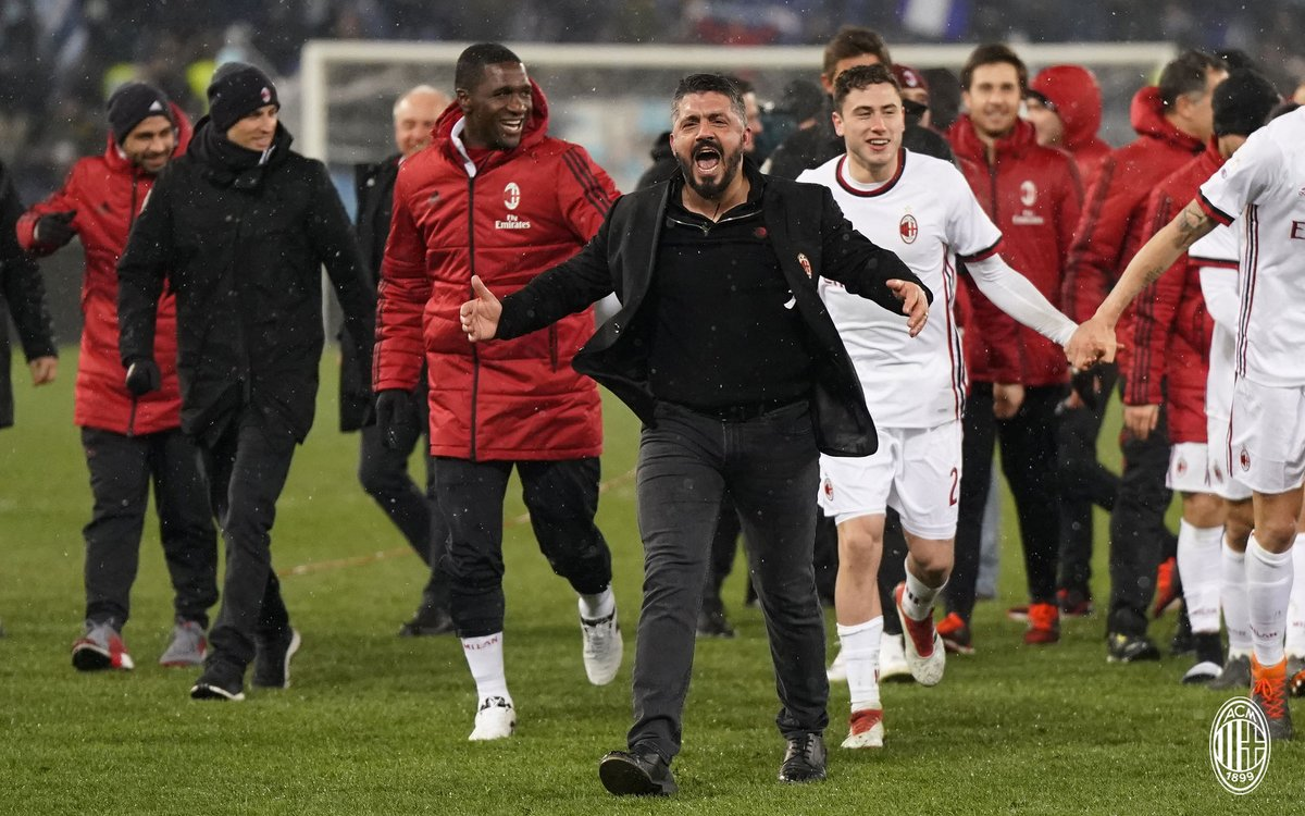 The Milan Gattuso remains undefeated in 2018
