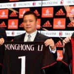 The company's Chinese president AC Milan, bankruptcy