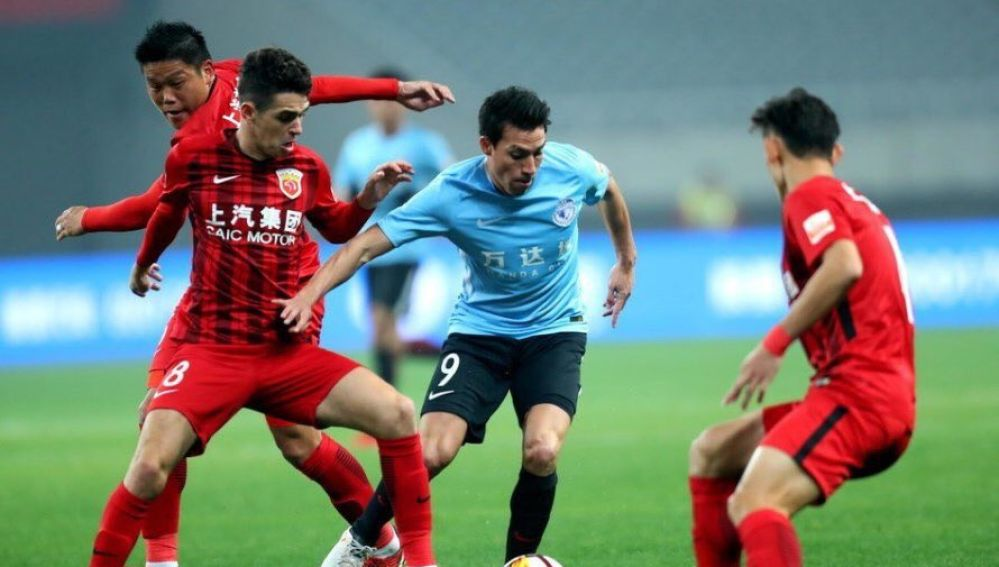 Carrasco and Gaitán debut in China with a defeat by ... ¡8-0!