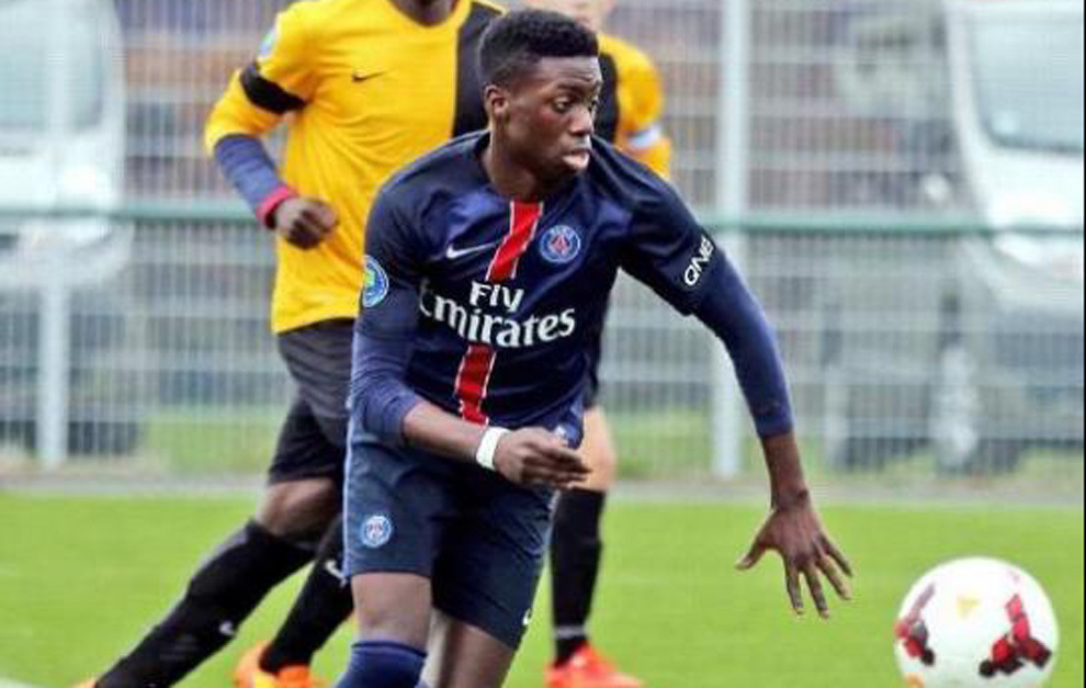 The son of a president of a government could debut at PSG