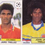 The Colombian who 'was' in two world but… only cromos
