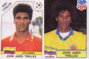 El colombiano que 'estuvo' en dos mundiales pero... sólo en cromos