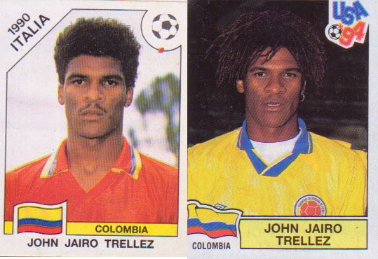 The Colombian who 'was' in two world but ... only cromos