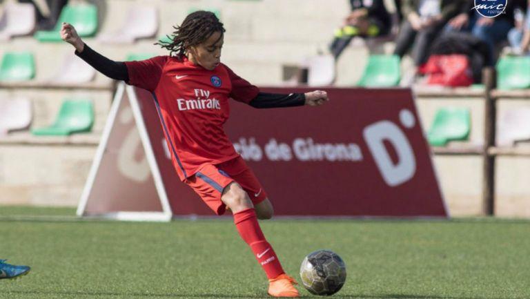 El hermano pequeño de un crack mundial debuta anotando un gol en las inferiores del PSG