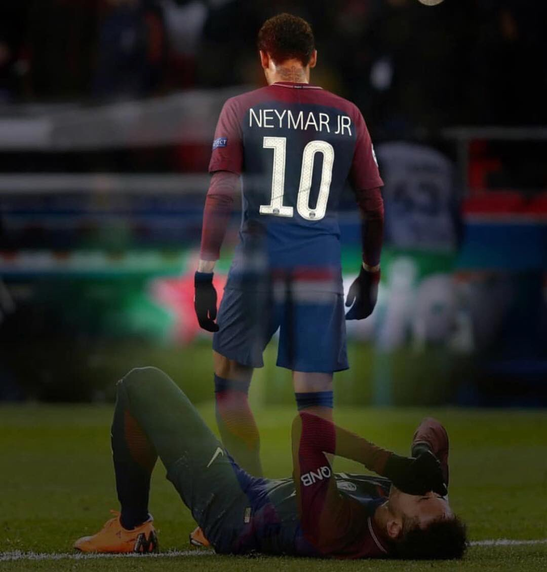 Neymar message on social networks after removal of PSG