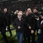 Greek league after the incident was suspended with the president of PAOK and gun