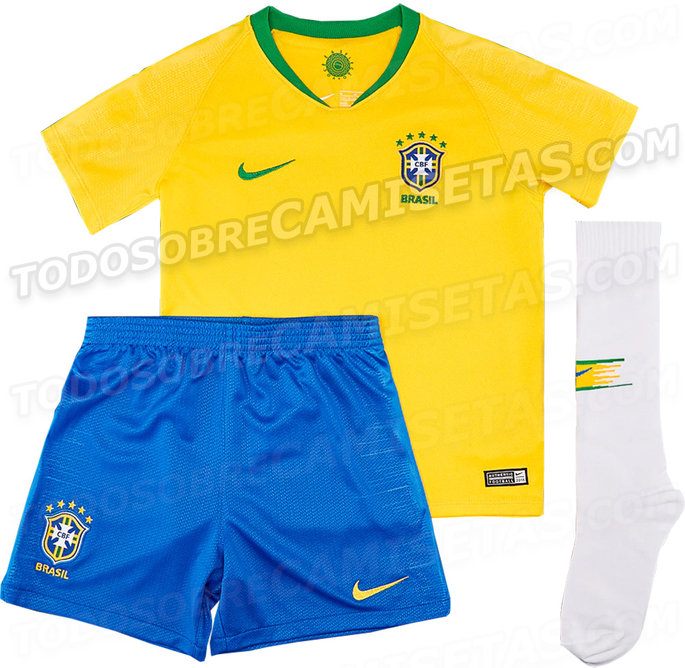 shirt with filtered Brazil will play the next World Russia 2018