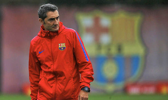 Valverde jeopardizing the position in case of defeat Barca today