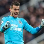 Dubravka, the goalkeeper in the Premier League who had an accident with a machete