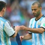 Sampaoli podría dejar a Mascherano fuera del Mundial de Rusia