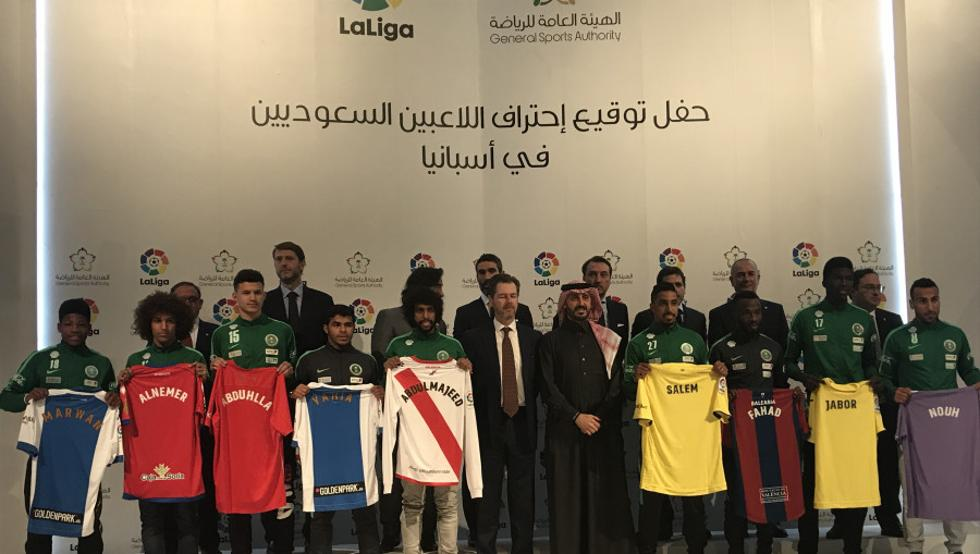 Primer saudí convocado para un partido de LaLiga
