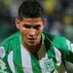 Jorman, Atletico Nacional player, breaks to mourn after the game of his team