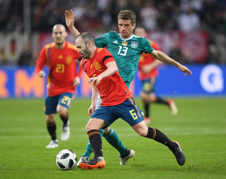 Is Russia Spain 2018 equal to or better than 2010?