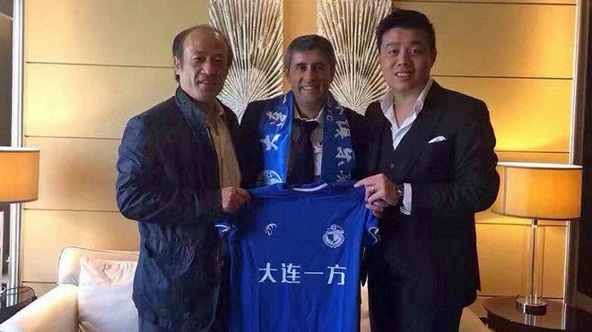 Del banquillo del Bernabéu a ser un clásico de la Segunda División china