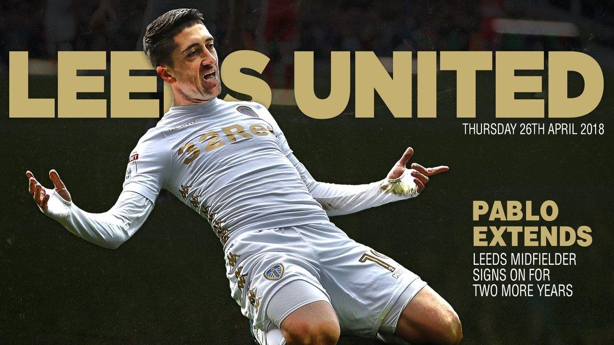Pablo Hernandez signs new Leeds United
