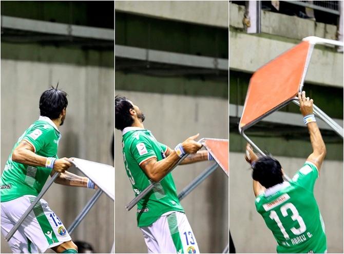 La última locura de Abreu contra los hinchas de su actual equipo