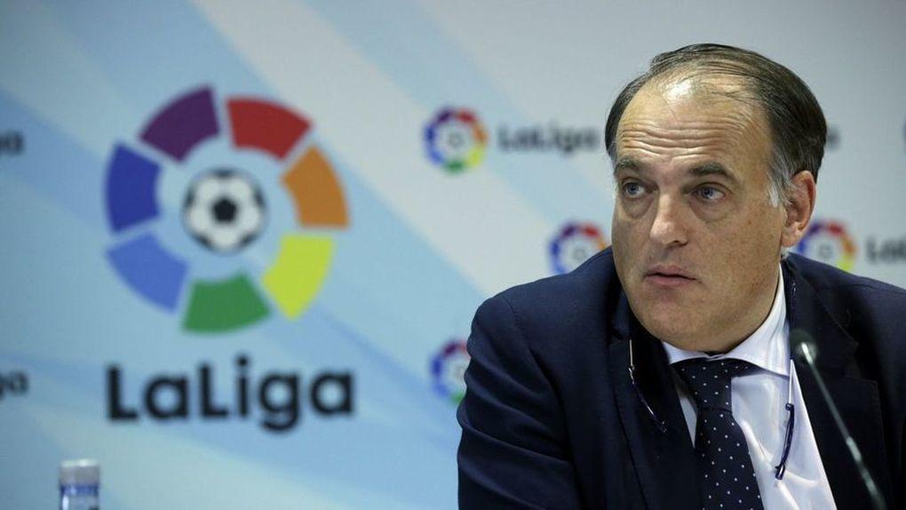 """Tebas: """"Vamos a subir el Huesca y el Zaragoza"""""""