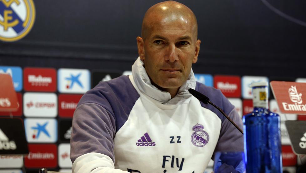 Zidane: «No haremos pasillo al Barça en el Camp Nou, es mi decisión»
