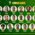 The 23 Brazil squad for the World Cup Russia
