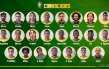 Los 23 convocados por Brasil para el Mundial de Rusia