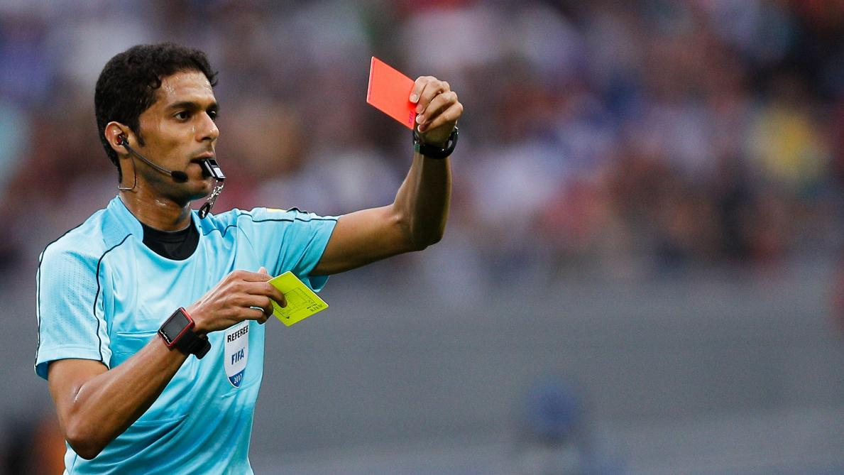 Suspended for life to a referee he would whistle at the World Russian 2018