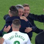 The excitement of Quique Setien after qualifying at Real Betis to play in Europe that could still be greater