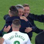 La emoción de Quique Setién tras clasificar al Real Betis para jugar en Europa que todavía podría ser mayor
