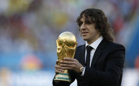 Congratulates Puyol Real Madrid and Barcelona sends a message to