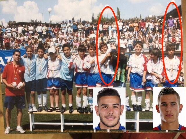 futbolistas de élite jugaron en el Rayo Majadahonda