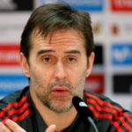 Julen Lopetegui is the new coach of Real Madrid