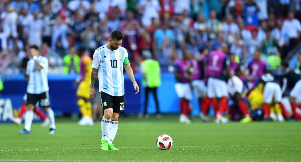 Messi again to leave a world with more pain than glory