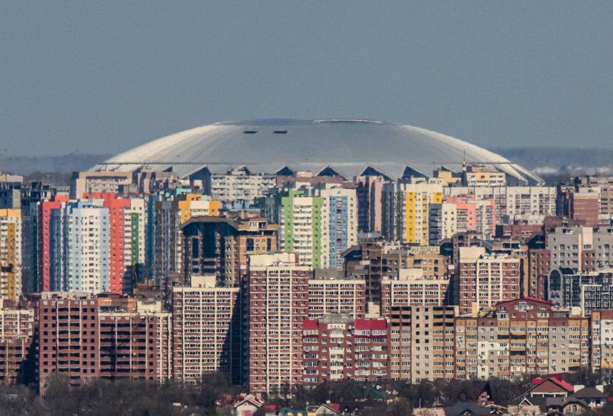 El estadio del Mundial de Rusia 2018 que parece un ovni